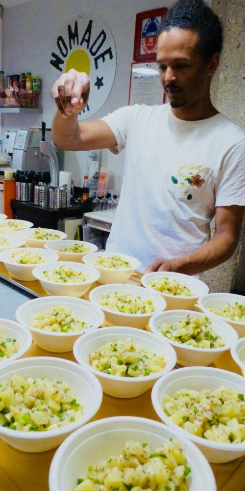 pow wow onda diner salade
