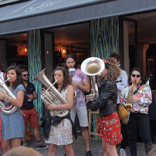 trois tuba chez en vrac fete de la musique 2018 paris 18eme