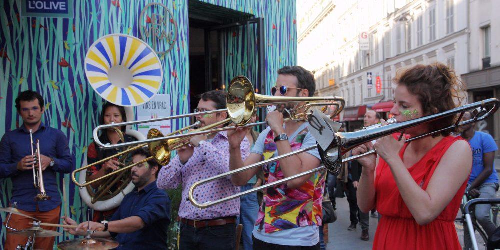 trombone a coulisse fete de la musique 2018 paris 18eme